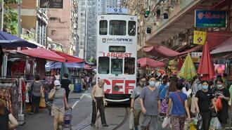 香港の失業率「コロナ第4波」で17年ぶり高水準