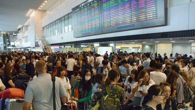 成田空港「足止め」なぜ回復に時間を要したか