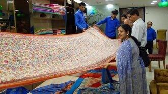 旭化成の伝統化繊、インド女性の心をつかむ