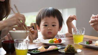 食べ物の好き嫌いが多い子に親ができること