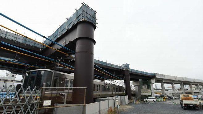開業まであと2年「おおさか東線」工事の現場