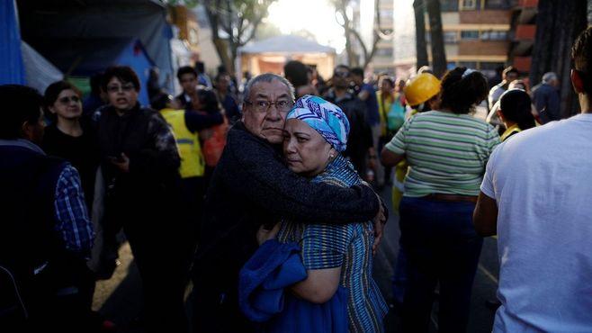 またメキシコで強い地震、マグニチュード7.2