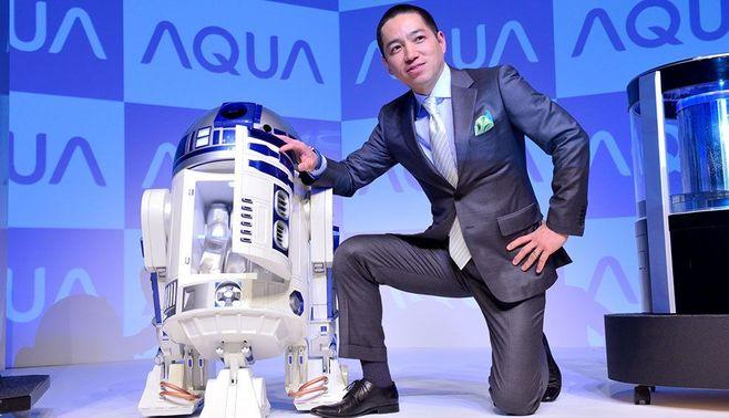 スター・ウォーズ「R2-D2」型冷蔵庫を作った男