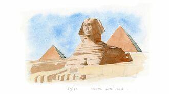 1990年代、エジプトで開かれた試乗会の思い出