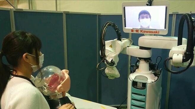 川崎重工、「ロボットPCR検査」に込めた壮大計画