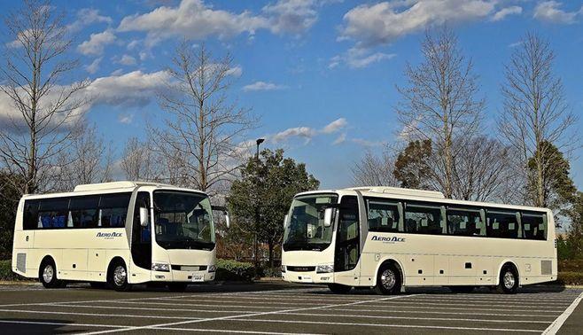 三菱ふそうの観光バスは超エコカーだった!