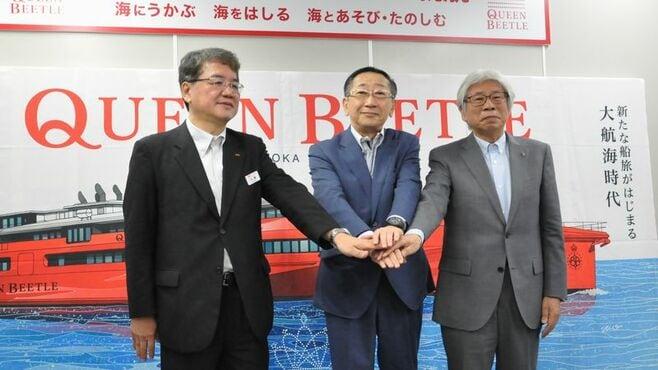 日韓関係悪化が影落とすJR「新型高速船」の針路