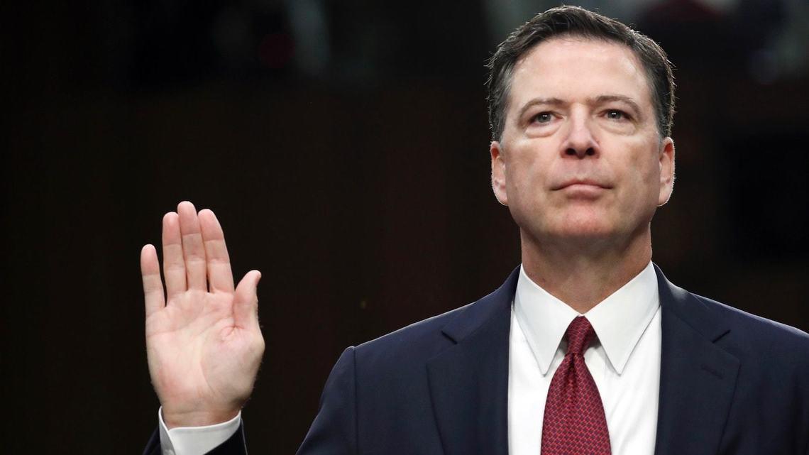 コミー前FBI長官、トランプ大統領...