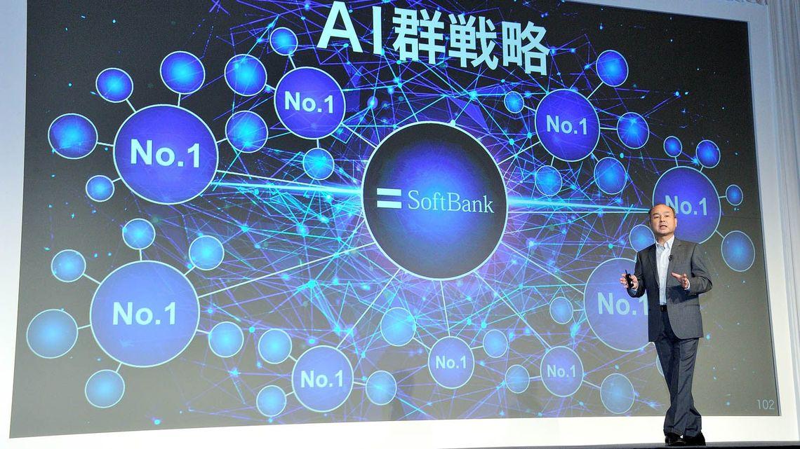 ソフトバンク孫社長「AI群戦略」独...
