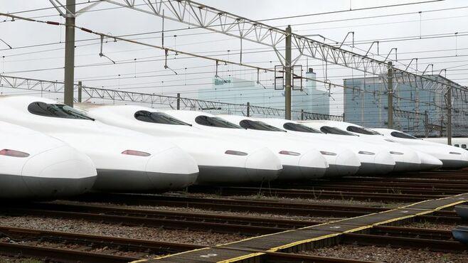 東海道新幹線、30年で本数はこんなに増えた