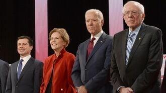 トランプと対峙する民主党有力候補4人に注目