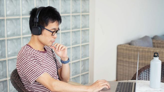 在宅勤務中に成長する人は「音声」を使っている