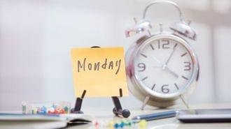 医師が警告!「月曜日は、ここまで危険だ」