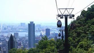 東京臨海部の貧弱交通はロープウェーが救う