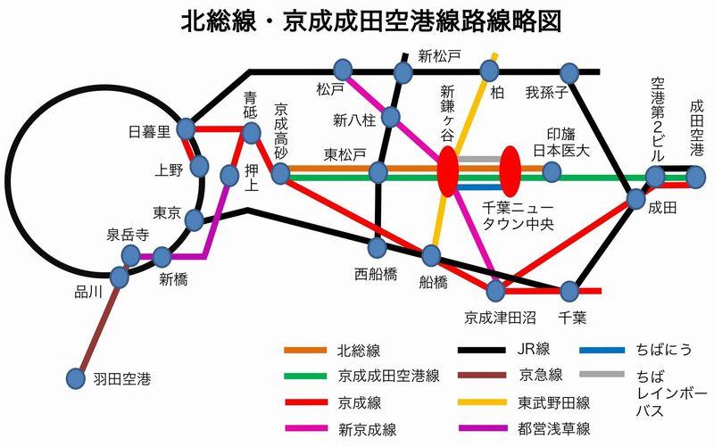 出口・地図|新鎌ヶ谷|駅の情報|ジョルダン