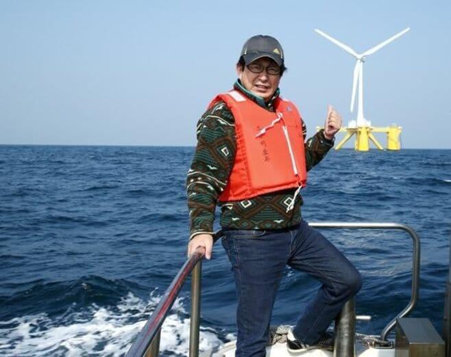 世界初「浮体式風力発電」の秘密