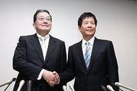新日鉄住金のトップ人事を発表。新日鉄・宗岡社長が会長CEOに、住金・友野社長が社長COOに就任へ