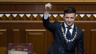 コメディアン大統領はウクライナを救えるのか