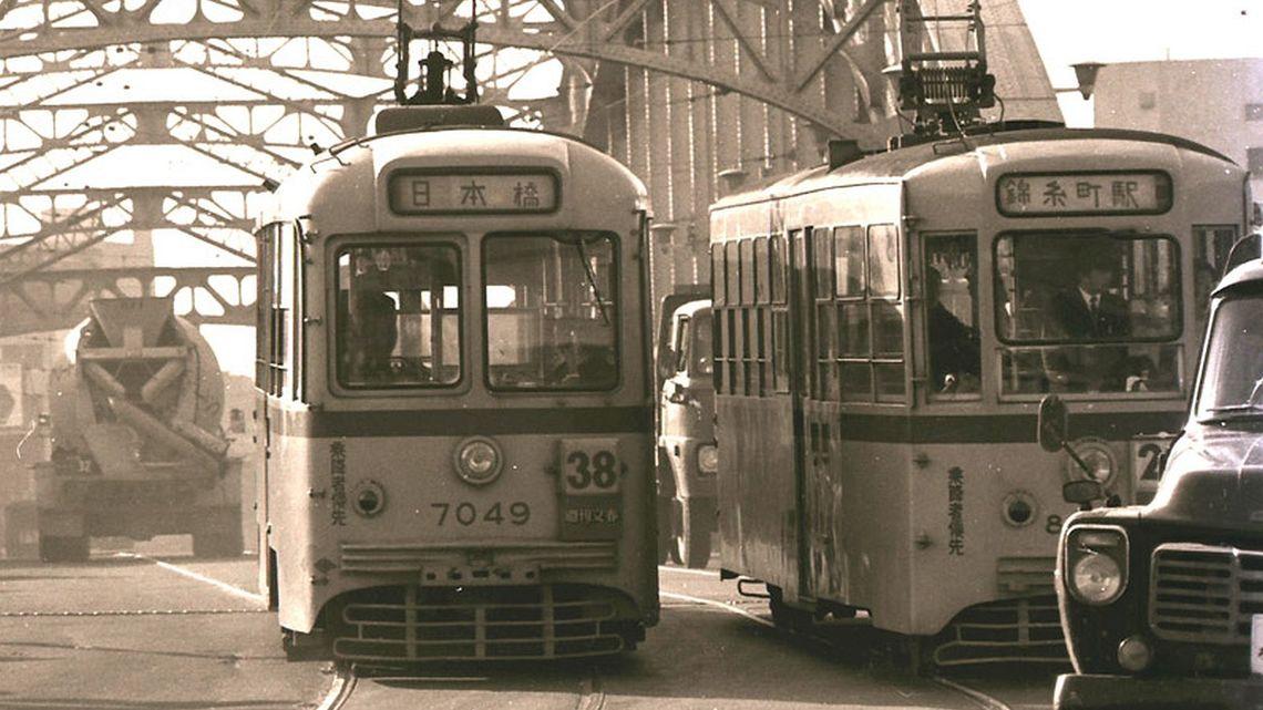 昭和の東京を縦横無尽に走った「都電」の記憶   通勤電車   東洋経済 ...